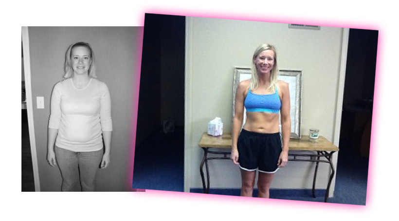 before after hcg weight loss